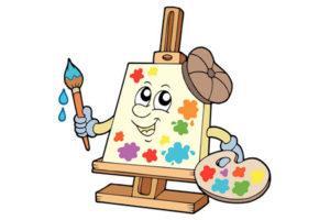 3-vector-cartoon-painter