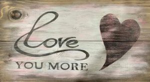 Love You More - Wood