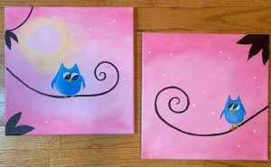 COME PAINT! -Mickie's Mom & Me Painting Party @ Mickie's Pizzeria